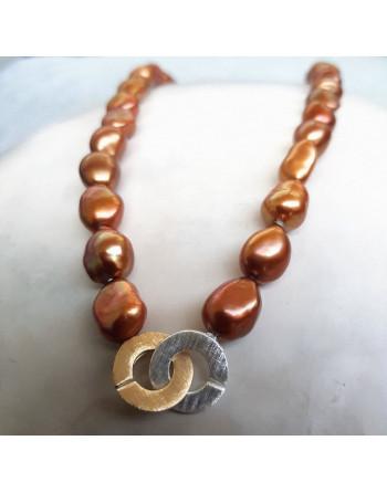 Cappuccino, necklace