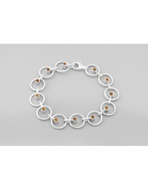 Orbit Bracelet (citrine)