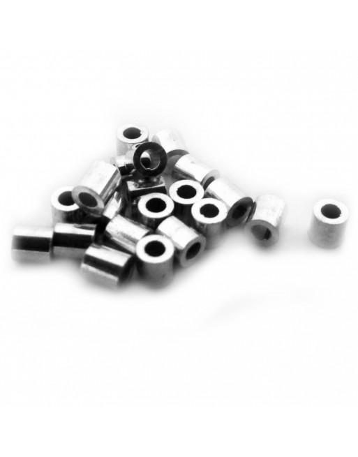 Puristeputki, hopea - 1,8mm