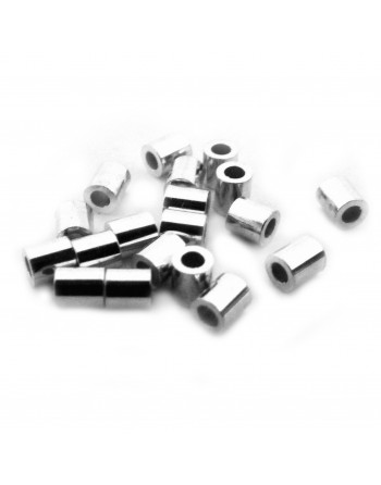 Puristeputki, hopea - 2,0mm
