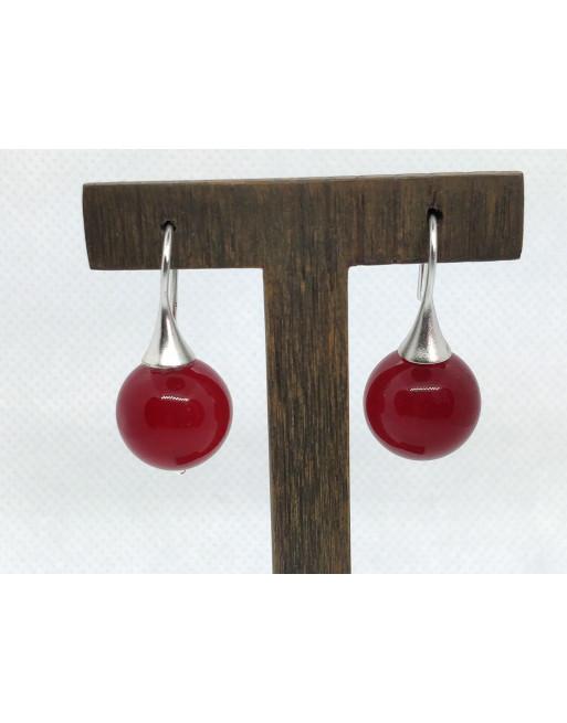 Cherry Earrings (silver)